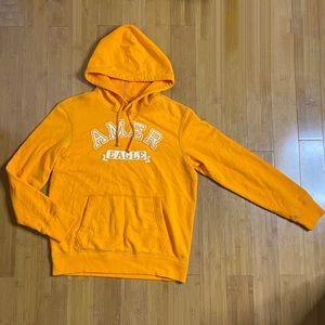 NWT American Eagle Athletic Fit Hoodie orange M